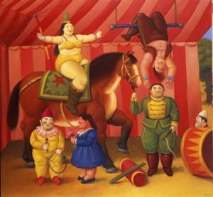 Botero - gente del circo