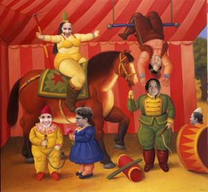 Cervi - Botero - gente del circo