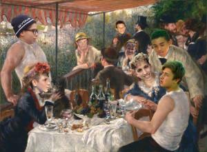 Lupi - Renoir - la colazione dei canottieri