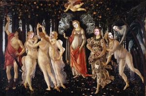 Puma - Botticelli - la primavera
