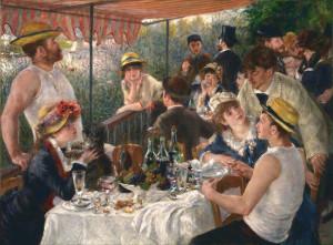 Renoir - la colazione dei canottieri