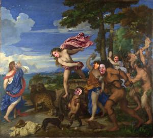Scoiattoli - Tiziano - Bacco e Arianna