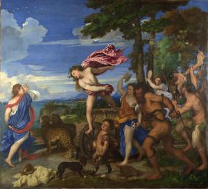 Tiziano - Bacco e Arianna